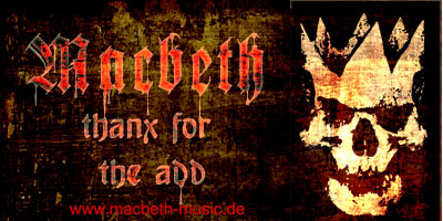 German metal Macbeth